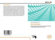 Buchcover von Pete Morton
