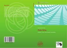 Bookcover of Pete Orta