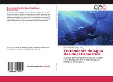 Capa do livro de Tratamiento de Agua Residual Domestica