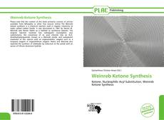 Bookcover of Weinreb Ketone Synthesis