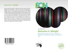 Weinstein V. Albright的封面