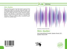 Bookcover of Weir, Quebec