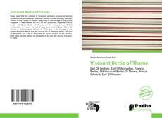 Copertina di Viscount Bertie of Thame