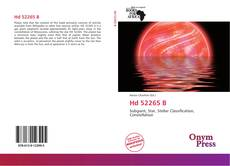 Bookcover of Hd 52265 B