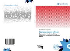 Portada del libro de Weissenberg effect