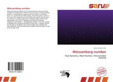 Bookcover of Weissenberg number