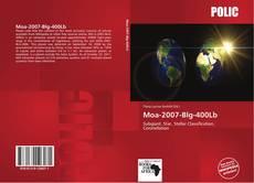Bookcover of Moa-2007-Blg-400Lb