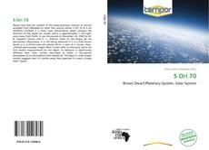 Bookcover of S Ori 70