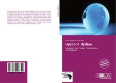 Bookcover of Upsilon1 Hydrae