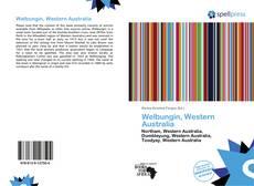 Welbungin, Western Australia的封面