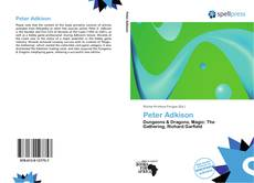 Bookcover of Peter Adkison