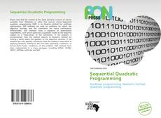 Bookcover of Sequential Quadratic Programming