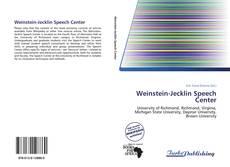 Weinstein-Jecklin Speech Center的封面