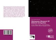Обложка Weingreen Museum Of Biblical Antiquities