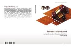 Capa do livro de Sequestration (Law)