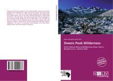 Bookcover of Owens Peak Wilderness