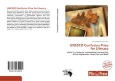 Portada del libro de UNESCO Confucius Prize for Literacy