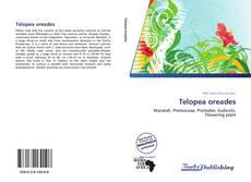 Telopea oreades kitap kapağı