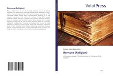 Bookcover of Romuva (Religion)