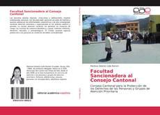 Portada del libro de Facultad Sancionadora al Consejo Cantonal