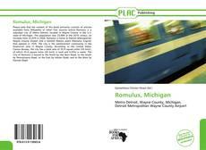 Bookcover of Romulus, Michigan