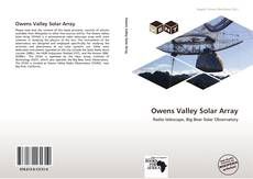 Owens Valley Solar Array kitap kapağı