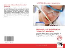 Capa do livro de University of New Mexico School of Medicine