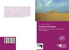 Bookcover of Serabit el-Khadim