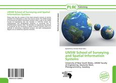 UNSW School of Surveying and Spatial Information Systems kitap kapağı