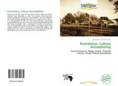 Bookcover of Kowalewo, Lubusz Voivodeship