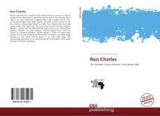 Portada del libro de Ron Charles