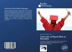 University of Puerto Rico at Bayamón的封面