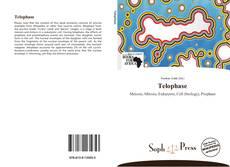 Telophase kitap kapağı