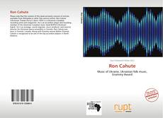 Bookcover of Ron Cahute