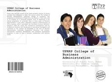 Bookcover of UPRRP College of Business Administration