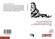 Bookcover of Viscount Melbourne