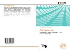 Peter Atherton kitap kapağı