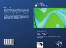 Peter Astor kitap kapağı