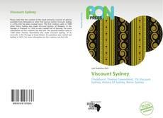 Viscount Sydney kitap kapağı