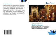 Buchcover von Bistum Carora
