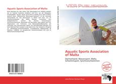 Couverture de Aquatic Sports Association of Malta