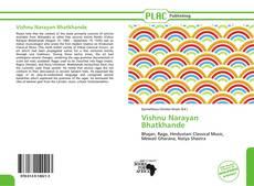 Portada del libro de Vishnu Narayan Bhatkhande