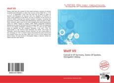 Borítókép a  Welf VII - hoz