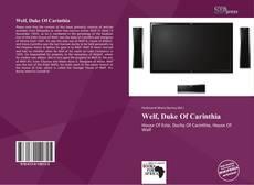 Обложка Welf, Duke Of Carinthia