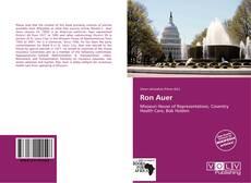 Couverture de Ron Auer