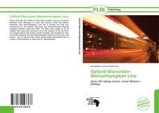 Capa do livro de Oxford-Worcester-Wolverhampton Line