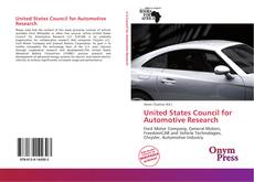 Bookcover of United States Council for Automotive Research