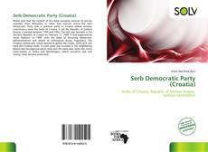 Bookcover of Serb Democratic Party (Croatia)