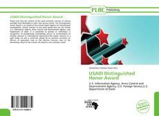 Обложка USAID Distinguished Honor Award