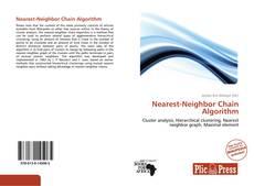 Nearest-Neighbor Chain Algorithm的封面